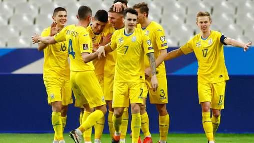 Украина разочаровала, но удача была на ее стороне, – французские СМИ о ничьей в отборе на ЧМ