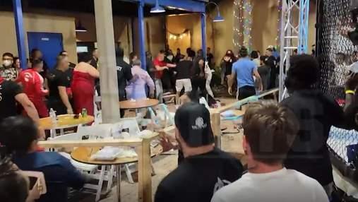 В США на турнире MMA произошла стрельба: видео