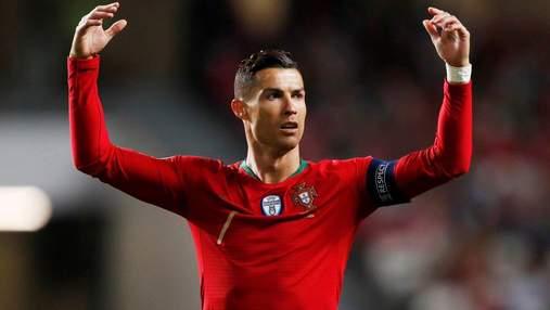 Арбитр извинился перед Роналду за незасчитанный гол в матче Сербия – Португалия