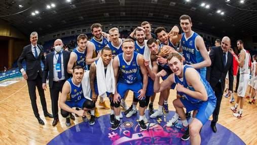 Збірна України потрапила до четвертого кошика жеребкування Євробаскета-2022