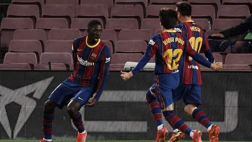 Барселона перемогла Вальядолід та впритул наблизилась до лідера Атлетіко: відео