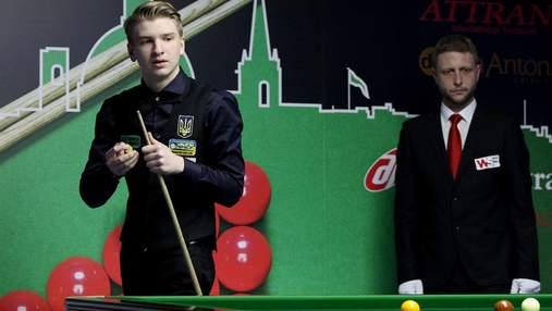 15-річний український снукерист Бойко поступився на старті відбору чемпіонату світу-2021