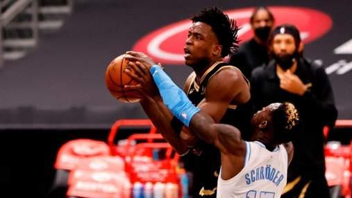Положил в стиле ММА: массовая драка в матче НБА – видео
