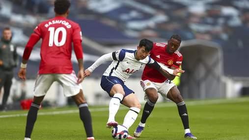 Манчестер Юнайтед в ярком матче победил Тоттенхэм
