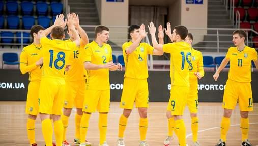 Украина разгромила Данию в отборе на футзальное евро-2022: видео