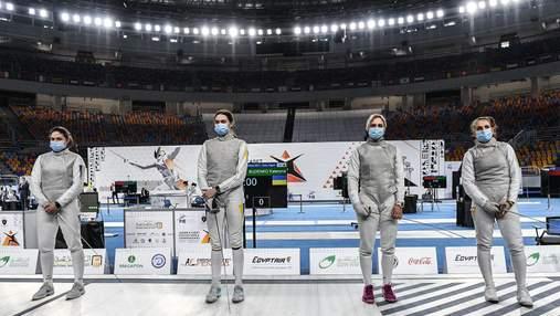 Вперше в історії Україна завоювала медаль в команді на юніорському чемпіонаті світу з фехтування