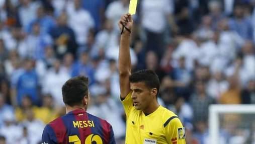 В Іспанії терміново замінили арбітра матчу Реал – Барселона