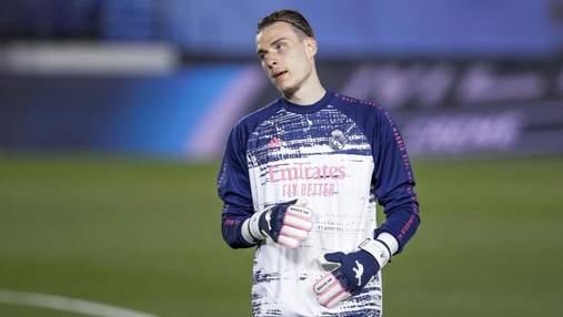 Лунин сравнил тренерские качества Зидана и Шевченко