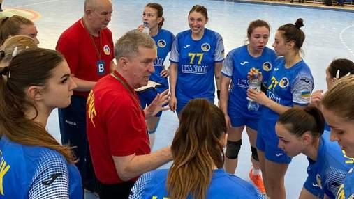 Сборная Украины по гандболу обыграла Беларусь в контрольном матче