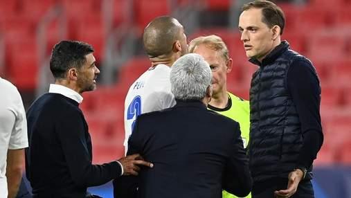 Матч 1/4 финала Лиги чемпионов Челси – Порту завершился словесной перепалкой тренеров