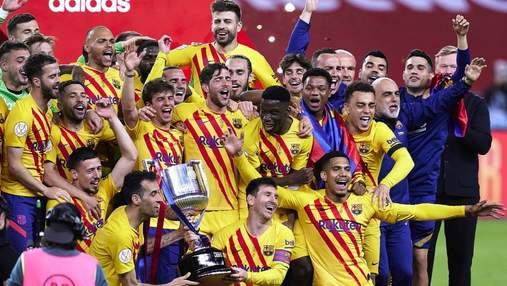 Барселона завдяки дублю Мессі знищила Атлетік у фіналі Кубка Іспанії: відео