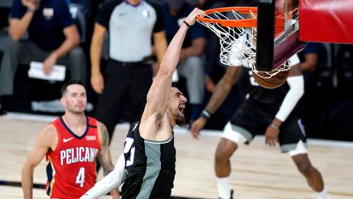 Вашингтон з Ленем розгромив колишній клуб Михайлюка у НБА