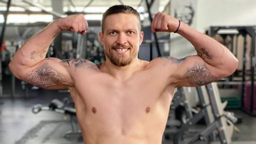 Усик установил новый весовой рекорд: фото