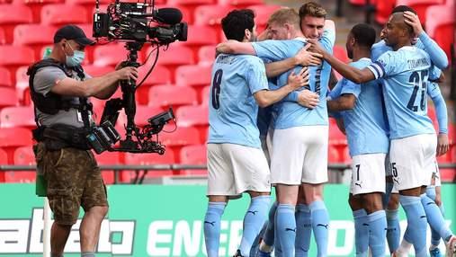 Манчестер Сити выиграл Кубок английской лиги: видео