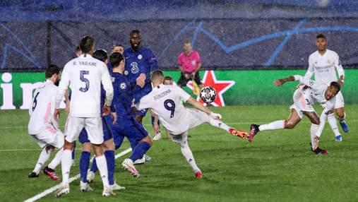Реал и Челси расписали результативную ничью в полуфинале Лиги чемпионов: видео