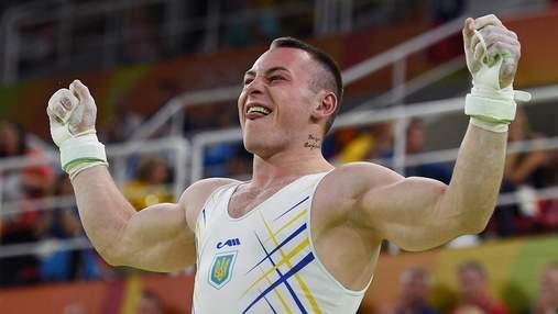 """Украинский гимнаст Радивилов выиграл """"золото"""" чемпионата Европы: видео"""