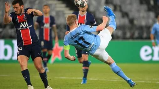 МанСити победил ПСЖ в полуфинале Лиги чемпионов после выхода Зинченко на поле: видео