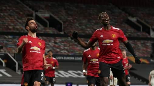Манчестер Юнайтед разгромил Рому в первом полуфинале Лиги Европы: видео