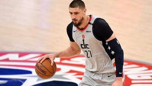 Украинский баскетболист Лень оформил яркий дабл-дабл в НБА: видео