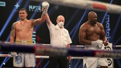 Команда Усика сказала, что он проиграл бой против Чисоры, – менеджер британца
