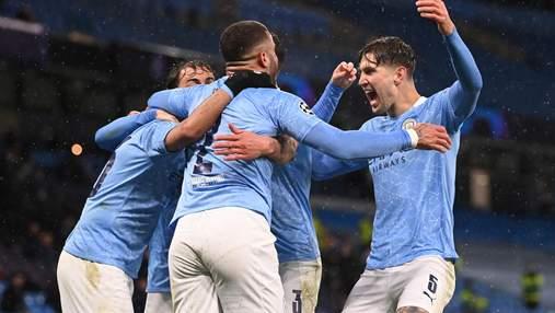 Манчестер Сити – первый финалист Лиги чемпионов: видео