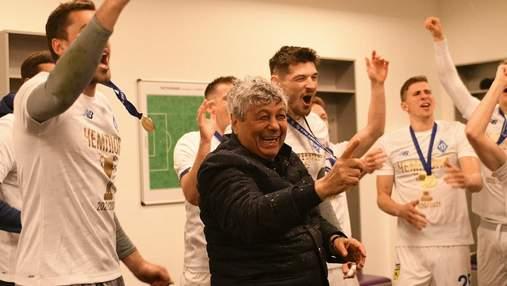 Луческу разделит между футболистами Динамо премиальные за чемпионство в УПЛ