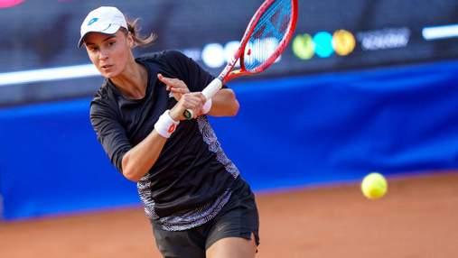 Українка Калініна феєрично вийшла у фінал турніру ITF в Загребі