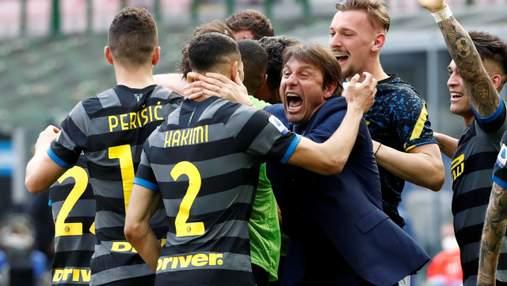 Интер впервые за 11 лет победил в Серии А: фото