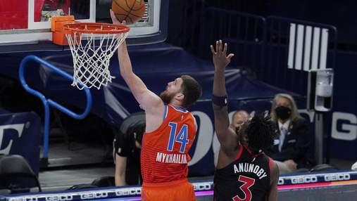 Слем-данк українця Михайлюка підкорив НБА: відео