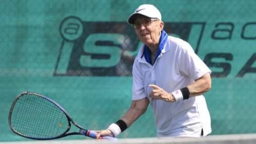 Я в прекрасной форме и могу победить – 74-летняя теннисистка Фолкенберг после поражения 0:6, 0:6