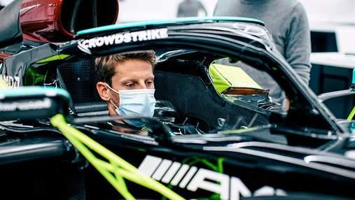 Ромен Грожан возвращается в Формулу-1: в 2020 году его болид разорвался на куски и загорелся