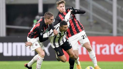 Милан разгромил Ювентус с Роналду в матче за Лигу чемпионов: видео