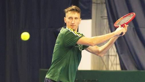 Стаховський зачохлив ракетку на тенісному турнірі у Празі