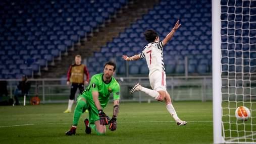Манчестер Юнайтед проиграл Роме в полуфинале Лиги Европы, но вышел в финал