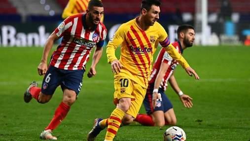 Барселона та Атлетіко не визначили сильнішого у боротьбі за чемпіонство