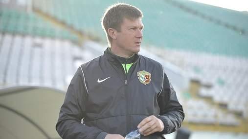 Тренер Ворскли хоче, щоб Шевченко викликав у збірну України найкращого форварда УПЛ