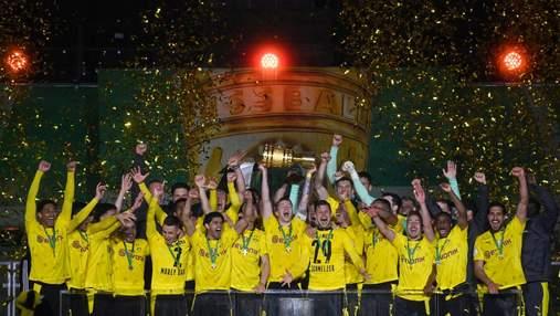 Боруссия Дортмунд выиграла Кубок Германии: видео