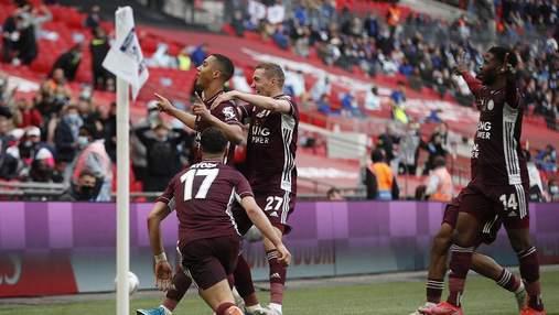 Лестер вперше в історії виграв Кубок Англії: відео