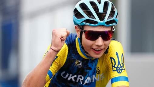 Украинский велогонщик чудом спасся от падения на Джиро д'Италия: видео