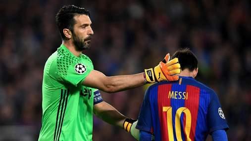 Буффон может продолжить карьеру в Барселоне