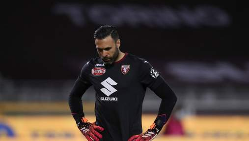 """Голкипер Торино назвал одноклубников """"дерьмом"""" после 7 голов от Милана"""