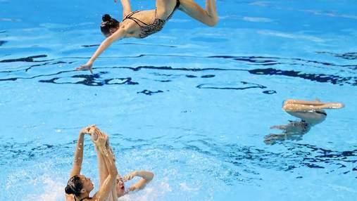 """Украина выиграла """"золото"""" на чемпионате Европы по артистическому плаванию"""