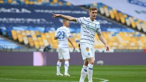 Гол Цыганкова вывел Динамо вперед в финале Кубка Украины: видео