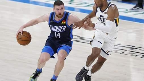 Українець Михайлюк зіграв феєричний матч НБА, ставши найкращим у матчі з лідером: відео