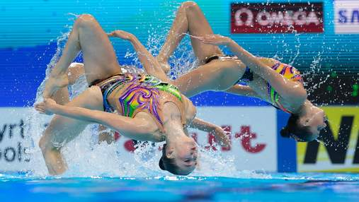 Украина показала лучший результат в истории чемпионатов Европы по артистическому плаванию