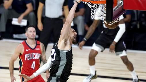 Вашингтон Леня выиграл последний матч регулярного чемпионата НБА, победа Оклахомы Михайлюка