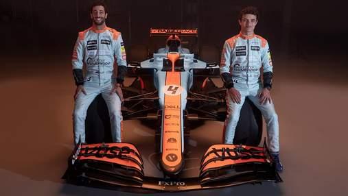 McLaren представив історичну ліврею боліду на гран-прі Монако: фото