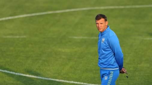 Шевченко назвал двух игроков Динамо, которые пропустят Евро-2020