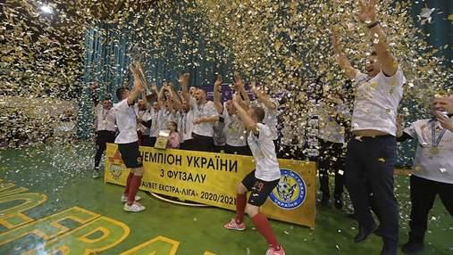 Ураган во второй раз в истории стал чемпионом Украины по футзалу