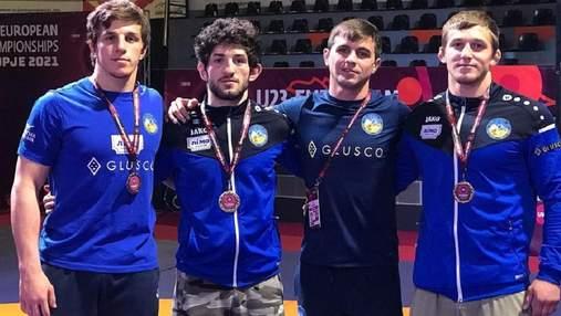 Украинский борец Сагалюк – бронзовый призер чемпионата Европы U-23 в Скопье
